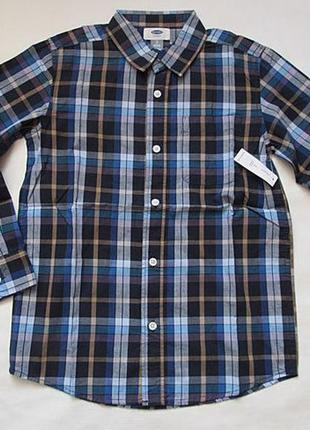 Рубашка для мальчика old navy 8-9 лет
