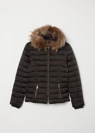 Женская зимняя куртка h&m 42 размер