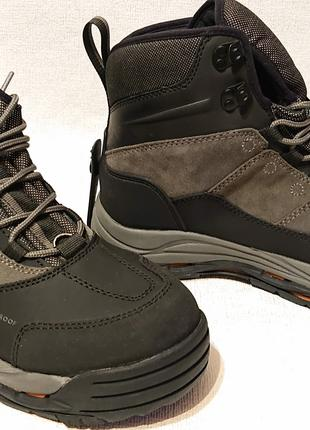 Мужские зимние термо ботинки korkers us12 наш 44.5-45 теплые зима