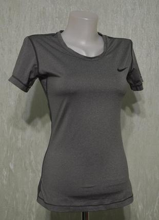 Беговая футболка, джерси nike pro short-sleeve training top 72...