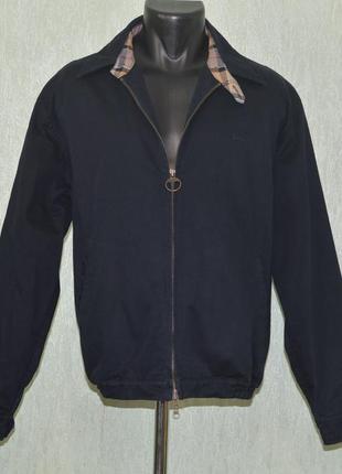 Куртка, бомбер, харик barbour spring blouson jacket casual