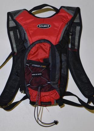 Рюкзак, гидропак source spinner 2 pro training