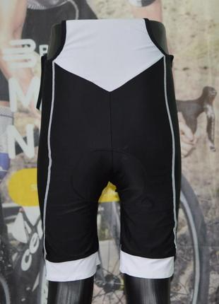 Велошорты, велотрусы, велоформа bi bike bib shorts micro gel