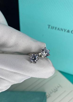 Женские серебряные серьги в стиле tiffany&co💥серебро 925 пробы