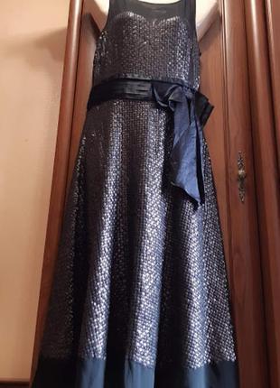 Платье шифоновое с пайетками monsoon