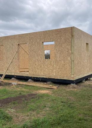 СІП/SIP Побудувати/Зібрати/Встановити Будинок Короб Побутівка Аль