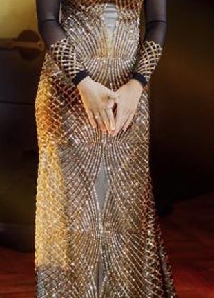 Женское эксклюзивное платье,р.S