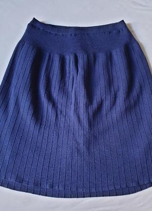 Тёплая трикотажная юбка