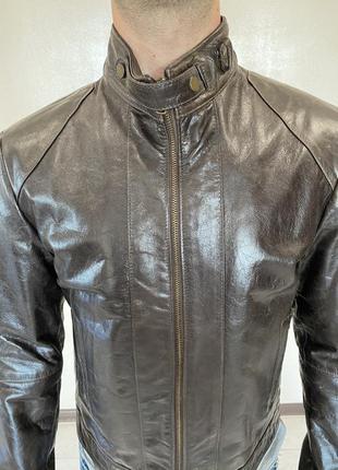 Куртка косуха натуральная кожа кожаная новая коллекция скидки ...