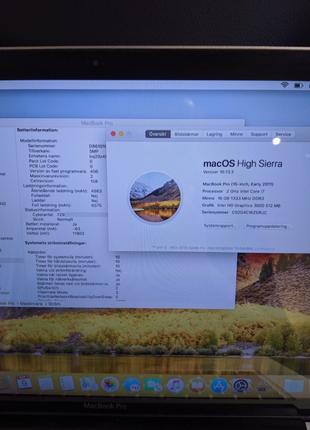 MacBook pro 15(2011) i7/16/4tb hdd