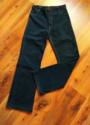 Прямые джинсы высокая посадка