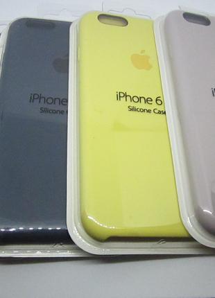 Чехол силиконовый iPhone 6s