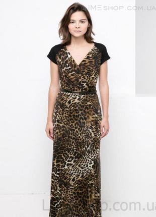 🌺👗🌺новое, красивое длинное женское леопардовое платье, сарафан...