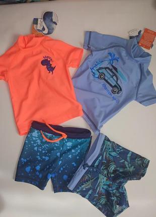 Набор из двух пляжных солнцезащитных костюмов 3-6 месяцев,Next