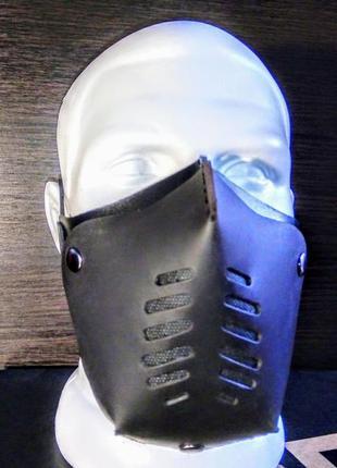Кожаная маска с фильтром