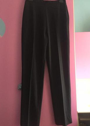 Модные брюки с высокой талией. зауженные