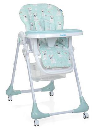 Детский стульчик для кормления M 3233 Puppy Boy Blue