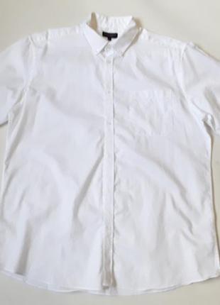 Белая шведка рубашка тениска  классика