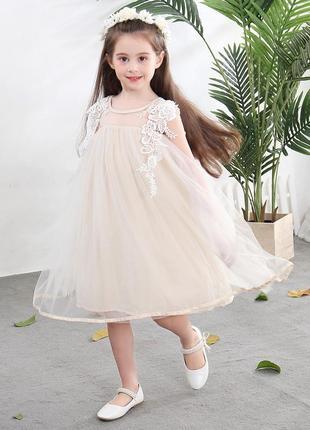 12-20 нарядное красивое детское платье на выпускной праздник у...