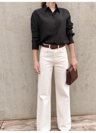 Белые широкие джинсы твоей мечты