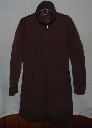 Пальто куртка пуховик натуральный пух moncler оригинал новая