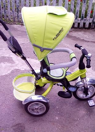 Турбо Трайк 3114 трехколесный детский велосипед