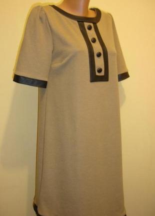 """Стильное платье с вставками под кожу """"dorothy perkins"""""""