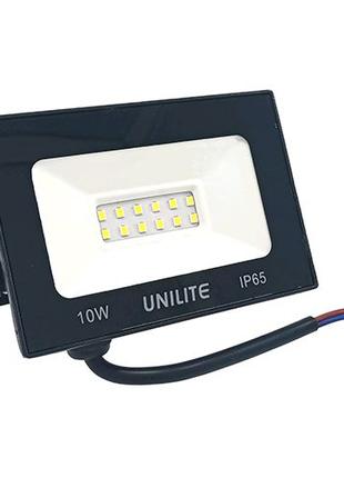 Прожектор LED UNILITE 10W 220V 800lm 6500K