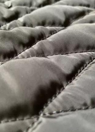 Стежка синяя на синтепоне, плащевка - ткани оптом и розницу