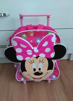 Оригинальный рюкзак-чемодан на колесиках