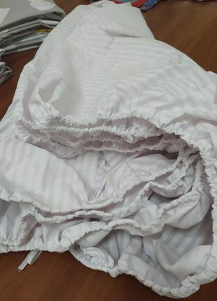 Простынь на резинке в наличии бязь голд