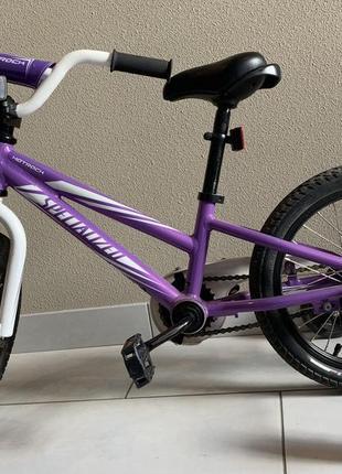 Велосипед, 16дюймовые колеса