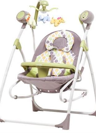 Кресло-качалка CARRELLO Nanny Green Tree (CRL-0005N)