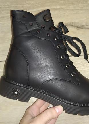 Осень деми женские ботинки  сапоги жіночі полуботинки