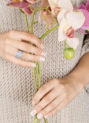 Кольцо серебро 925 орнамент лк0117