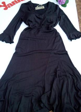 Теплое платье макси 50 размер  новое в пол нарядное осеннее на...