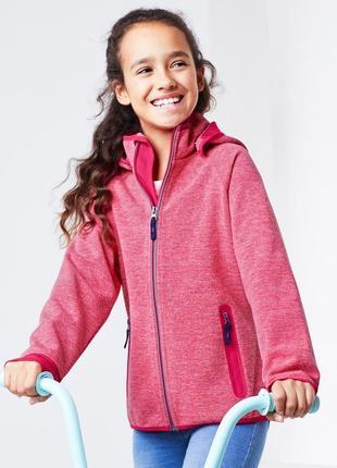 Розовая куртка ветровка от happy kids, tcm tchibo, размер 146-152