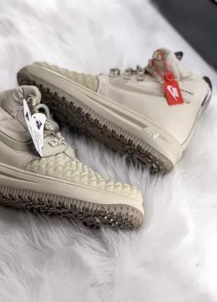 Женские кроссовки Nike Air Force lunar 3 цвета 36-40 кожа осение
