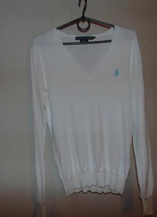 Джемпер свитер polo ralph lauren оригинал как новый размер m