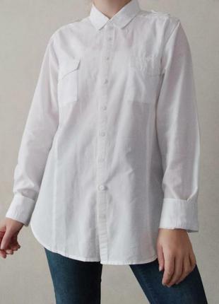 Базова біла сорочка
