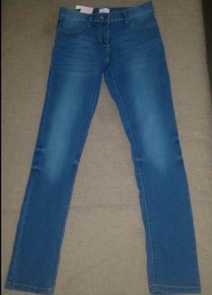 Мягкие джинсы для вашей модницы от alive, германия, рост 116 и...
