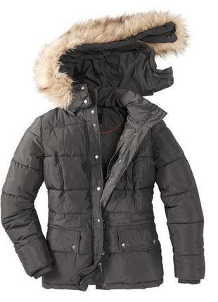 Теплая демисезонная куртка, парка от tcm tchibo, германия, р-р...