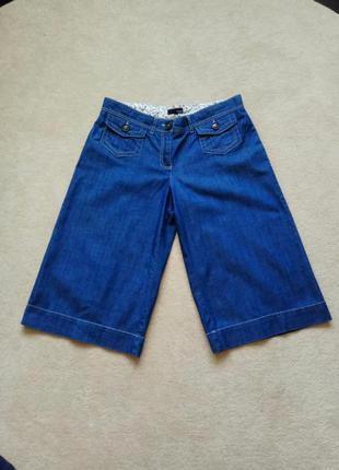 Кюлоты шорты джинсовые