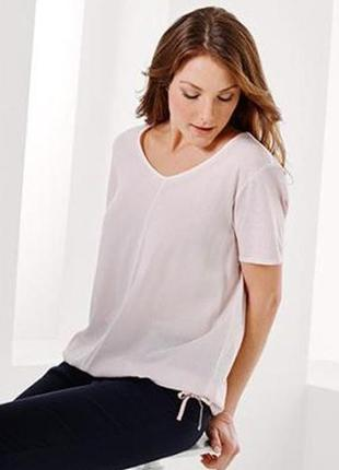 Нежная футболка в винтажном стиле от tcm tchibo, германия