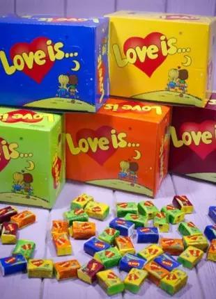 Ассорти жвачка Love is... (все 5 вкусов)