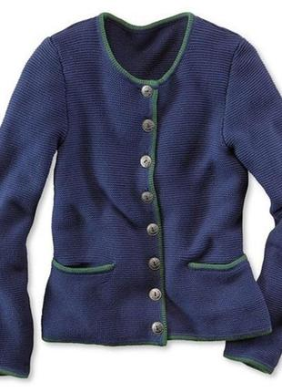 Темно-синий вязаный кардиган, кофта , пиджак от tcm tchibo, ге...