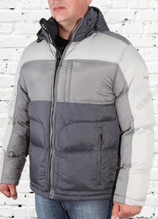 Куртка пуховик зимняя мужская braggart