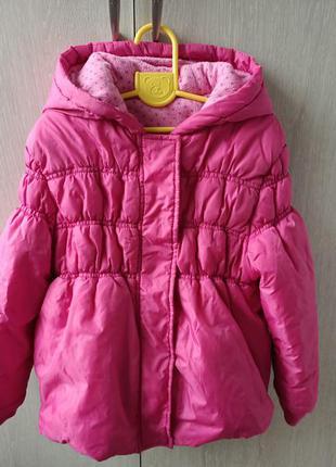 Куртка для девочки утепленная