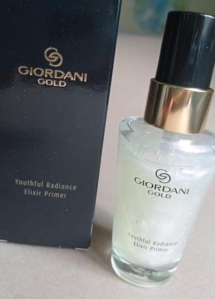 Антивозрастная основа-эликсир под макияж giordani gold