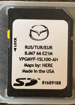 GPS SD карта для Мазда. Mazda BJM7 66 EZ1S